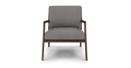 Article Denman Armchair Storm Gray