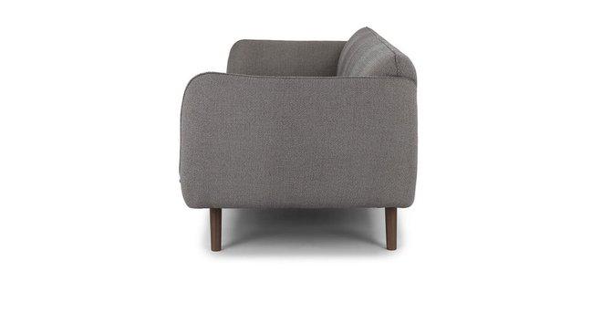 Haro Mid-Century Modern Fabric Sofa Storm Gray