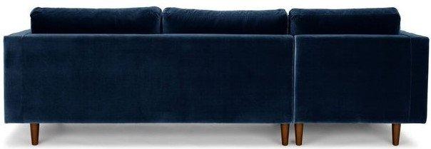 Article Sven Left Sectional Sofa Cascadia Blue