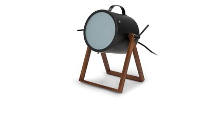 Spot Table Lamp Black