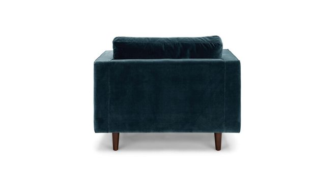 Article Sven Tufted Velvet Chair Pacific Blue