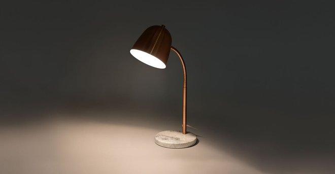Article Cado Table Lamp Copper