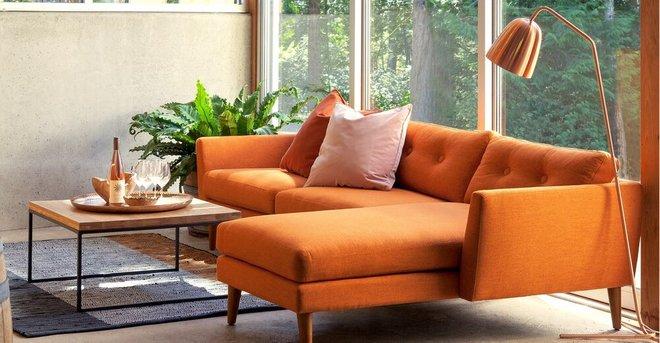 Article Cado Floor Lamp Copper