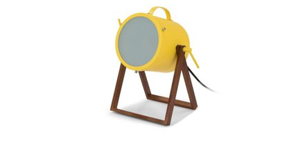 Spot Table Lamp Yellow