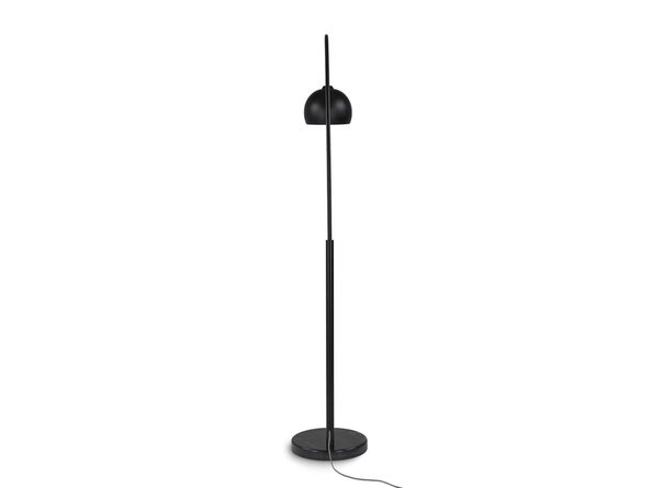Article Crescent Floor Lamp Black