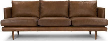 Article Burrard Mid-Century Modern Sofa Bella Tan