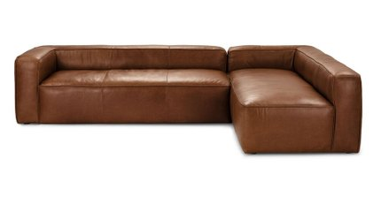 Mello Right Arm Corner Sectional Taos Brown
