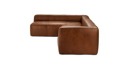 Mello Left Arm Corner Sectional Taos Brown