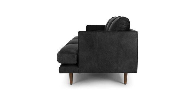 Burrard Mid-Century Modern Sofabella Black