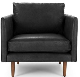 Article Burrard Lounge Chair Bella Black
