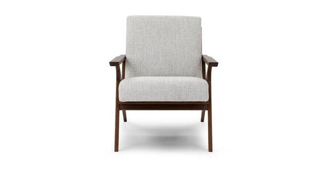 Article Otio Mid Century Modern Armchair Mist Gray