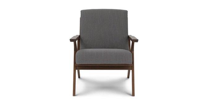 Otio Mid Century Modern Armchair Thunder Gray