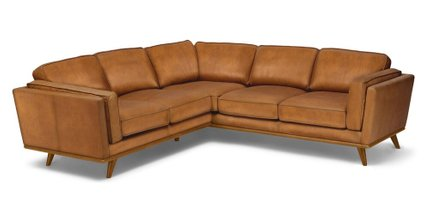 Timber Corner Sectional Charme Tan