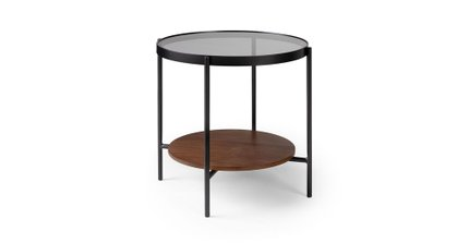 Vitri Side Table Walnut