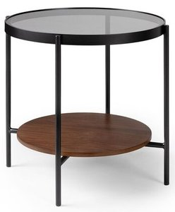 Article Vitri Side Table Walnut