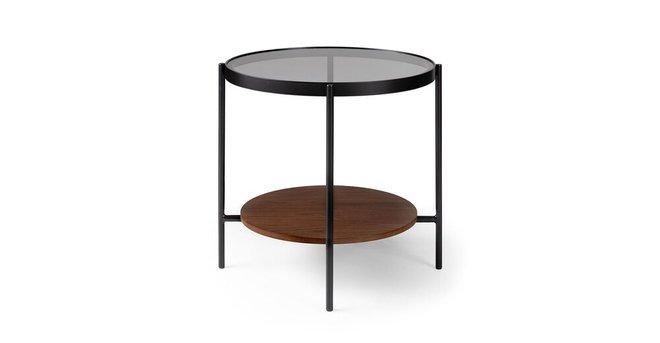 Vitri Side Table Walnut