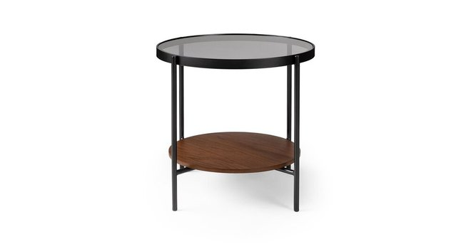 Article Vitri Side Table Walnut