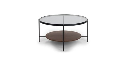 Vitri Scandinavian style Coffee Table glass