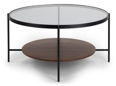 Article Vitri Scandinavian style Coffee Table glass