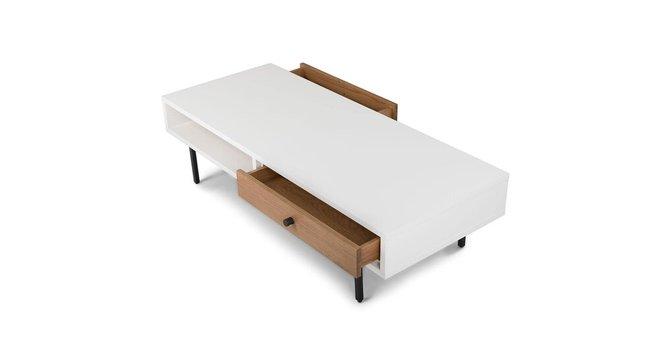 Bios Scandinavian Style Coffee Table White/Oak
