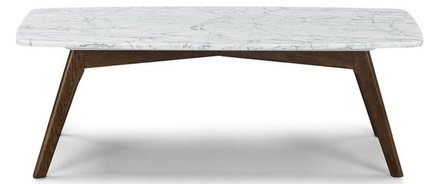 Article Vena Mid Century Modern Coffee Table Oak