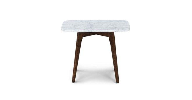 Vena Rectangular Side Table Walnut