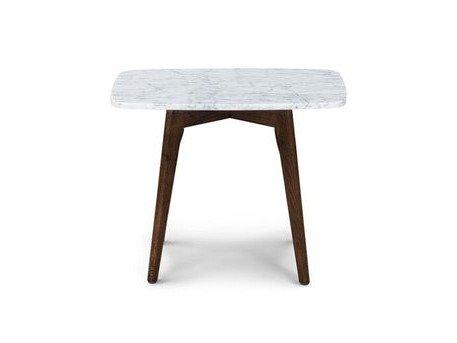 Article Vena Rectangular Side Table Walnut