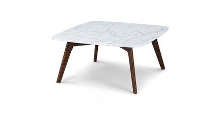 Vena Square Coffee Table Walunt