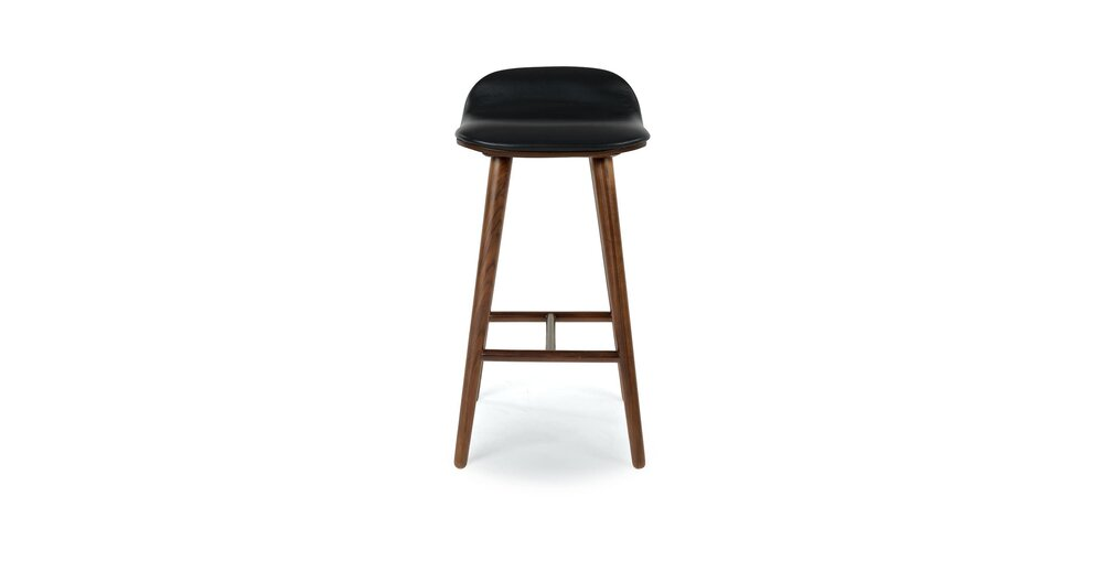 Excellent Sede Mid Century Modern Counter Stool Black Squirreltailoven Fun Painted Chair Ideas Images Squirreltailovenorg