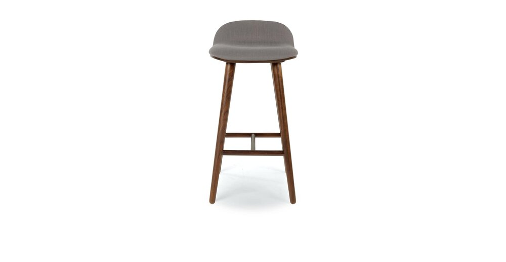 Fine Sede Mid Century Modern Counter Stool Thunder Gray Unemploymentrelief Wooden Chair Designs For Living Room Unemploymentrelieforg