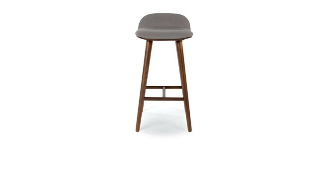 Sede Mid Century Modern Counter Stool Thunder Gray