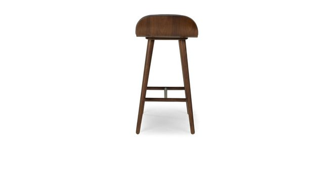 Article Sede Mid Century Modern Counter Stool Thunder Gray