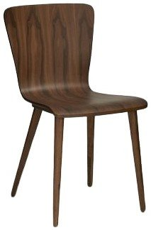 Article Sede Mid Century Modern Dining Chair Walnut (Set Of 2)