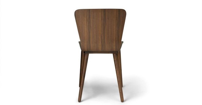 Sede Mid Century Modern Dining Chair Walnut (Set Of 2)