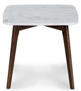 Article Vena Square Side Table Walnut