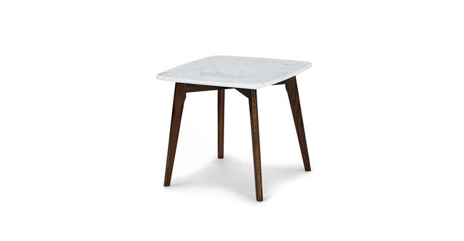 Article Vena Square Side Table Walnut