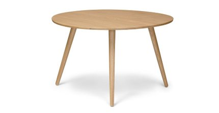 Seno Round Dining Table Oak