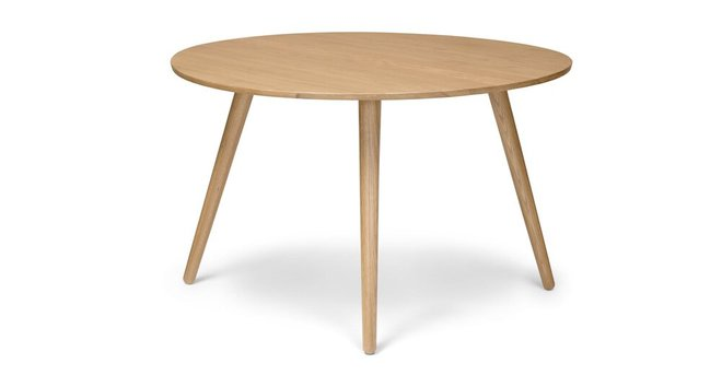 Seno Round Dining Table Oak