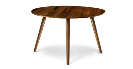 Article Seno Round Dining Table Walnut