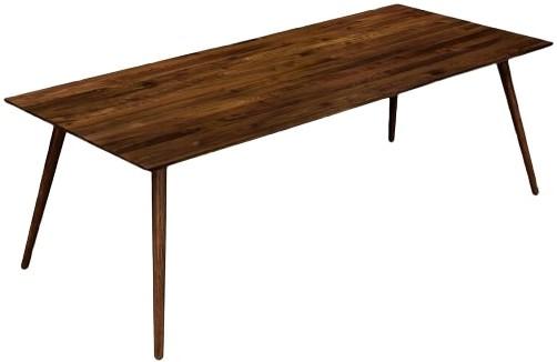 Rent Article Seno Mid Century Modern Dining Table Walnut Dining Tables New York Casaone