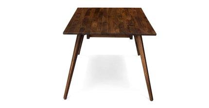 Seno Mid Century Modern Dining Table Walnut