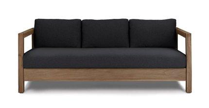 Arca Outdoor Sofa Onyx Black