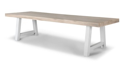 Tavola Dining Table For 10 Driftwood Gray