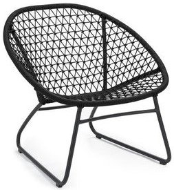 Article Bene Outdoor Lounge Chair Graphite Black