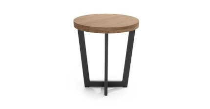 Toba Side Table Vintage Brown
