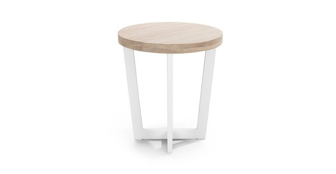 Toba Side Table Driftwood Gray