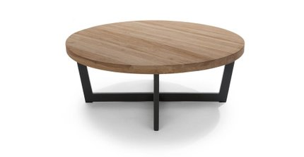 Toba Vintage Coffee Table Brown