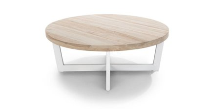 Article Toba Coffee Table Driftwood Gray