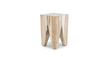 Article Tana Stool Natural Teak
