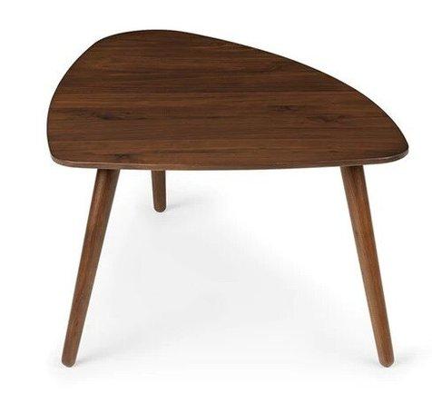 "Article Amoeba Wild 29.5"" Wide Coffee Table Walnut"